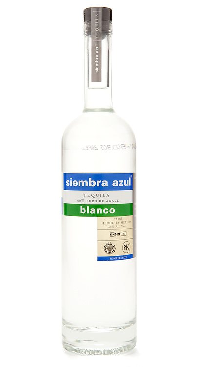 Siembra Azul Tequila Blanco -- Image originally appeared in the Tequila Matchmaker: http://tequilamatchmaker.com