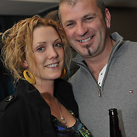 Free Pic/ No Repro Fee.Pictured at the opening of Kinsales Newest Night Club, Studio Blue, were Paul Allen and Joanna Bailey from Kinsale..Pic. John Allen