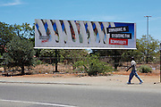 Propaganda posters highlight the desperation of the situation in Zimbabwe..There were 664 confirmed cases of Cholera at the border town of Musina in South Africa. Officially the outbreak is under control, with the confirmed number of deaths from Cholera at 8 people. 51 of those admitted to the hospital have been under the age of 5 years old...Limpopo Health department has been working closely with IRC, Save the Children (UK), WHO and MSF to bring the outbreak under control through treatment and education programs in bordering villages and at the main IDP camp at Musina Showground..
