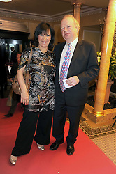 ARLENE PHILLIPS and JOHN SERGEANT at the 2009 South Bank Show Awards held at The Dorchester, Park Lane, London on 20th January 2009.