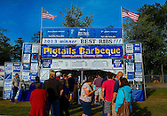 The 9th Annual Pigs in the Pines RibFest was held the first weekend in August 2013 at the St. Germain Community Park, in St. Germain, Wisconsin .- Photo Steve Apps