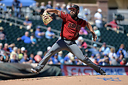 SURPRISE, AZ - MARCH 06:  Robbie Ray #38 of the Arizona Diamondbacks delivers a pitch in the first inning of the spring training game against the Kansas City Royals at Surprise Stadium on March 6, 2017 in Surprise, Arizona.  (Photo by Jennifer Stewart/Getty Images)