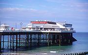 AMHK52 End of pier Pavilion theatre Cromer England