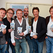 NLD/Amsterdam/20110608 - Boekpresentatie Bastiaan Ragas, Raymond van der Klundert, Dennis van der Ven, Bastiaan, Cees Geel, Rick Engelkes en Robert ten Brink