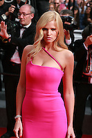 Lara Stone, at The Search gala screening red carpet at the 67th Cannes Film Festival France. Tuesday 20th May 2014 in Cannes Film Festival, France.