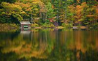 Mt Chocorua in fall colors, New Hampshire