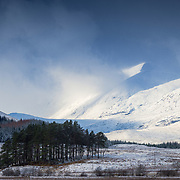 Nice wee afternoon on Sunday in ever changing conditions. Glimpsed this scene from afar while down at the banks of Loch Tulla and swapped to the 70-200mm lens quickly before the light was lost.