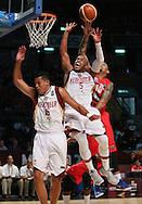 The 2015 FIBA Americas Championship for Men was the FIBA Americas qualifying tournament for the 2016 Summer Olympics Basketball Tournament in Brazil. The tournament was held in Mexico City, Mexico. The tournament was won for the first time by the Venezuelan national basketball team. Venezuela and runner-up Argentina qualified directly for the 2016 Olympics. They will join FIBA Americas member United States, who qualified for the Olympics by virtue of winning the 2014 FIBA Basketball World Cup.