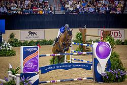 Leprevost Penelope, FRA, Vagabond de la Pomme<br /> World Cup Final Jumping - Las Vegas 2015<br /> © Hippo Foto - Dirk Caremans<br /> 19/04/2015