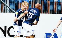 Fotball , 2. august 2014 , Eliteserien , Tippeligaen<br /> Strømsgodset - Sogndal<br /> Marvin Ogunjimi , SIF<br /> Martin Ødegaard , SIF<br /> Martin Odegaard