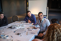 NITV National indigenous Television. Chris Bonney NITV Marketing Mananger during the sports development discussions.