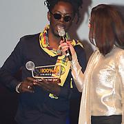 NLD/Amsterdam/20160202 - Uitreiking 100% NL Awards 2015, Kenny B wint de doorbraak van het jaar award
