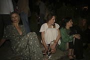 Laura Bailey and Alice Temperley, Quintessentially Summer party, Debenham House. Addison Rd. London. 15 June 2006. ONE TIME USE ONLY - DO NOT ARCHIVE  © Copyright Photograph by Dafydd Jones 66 Stockwell Park Rd. London SW9 0DA Tel 020 7733 0108 www.dafjones.com