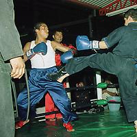 Toluca, M&eacute;x.- .Con la finalidad de fomentar entre los jovenes el gusto por las artes marciales para que sea como una forma de ejercicio, no de agresividad, existen academias que realizan torneos de exhibici&oacute;n en la ciudad de Toluca. Agencia MVT /H. V&aacute;zquez E.  (FILM)<br /> <br /> NO ARCHIVAR - NO ARCHIVE
