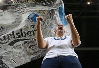 Fotball, 27. september 2016 , Champions League, FC Copenhagen - FC Brugge<br /> Tilhengere  av Copenhagen før kampen mot Brugge.<br /> Foto: Andrew Halseid Budd , Digitalsport
