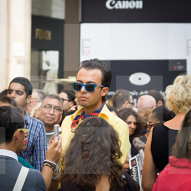 3rd day of Milan Fashion Show 2011