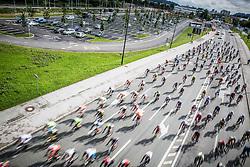 Riders during 156km race at 35th Marathon Franja BTC City 2016, on June 11, 2016 in Dolgi most, Ljubljana, Slovenia. Photo by Vid Ponikvar / Sportida