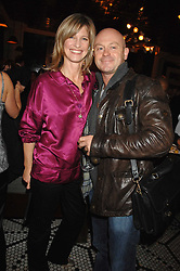 NICOLA FORMBY and ROSS KEMP at a party to celebrate the publication of Table Talk by A  A Gill held at Luciano, 72-73 St.James's, London on 22nd October 2007.<br />