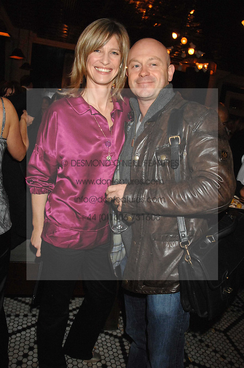 NICOLA FORMBY and ROSS KEMP at a party to celebrate the publication of Table Talk by A  A Gill held at Luciano, 72-73 St.James's, London on 22nd October 2007.<br /><br />NON EXCLUSIVE - WORLD RIGHTS