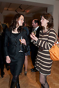 CHRISTINA KENYON-SLANEY; LAURA GODSAL, Bonhams Auction house hosts festive drinks to preview the first phase of the reconstruction of its Mayfair Headquarters - due for completion in 2013.<br /> Bonhams, 101 New Bond Street, London, 19 December 2011.
