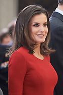 Queen Letizia of Spain attend National Sport Awards 2017 at El Pardo Royal Palace on January 10, 2019 in Madrid, Spain