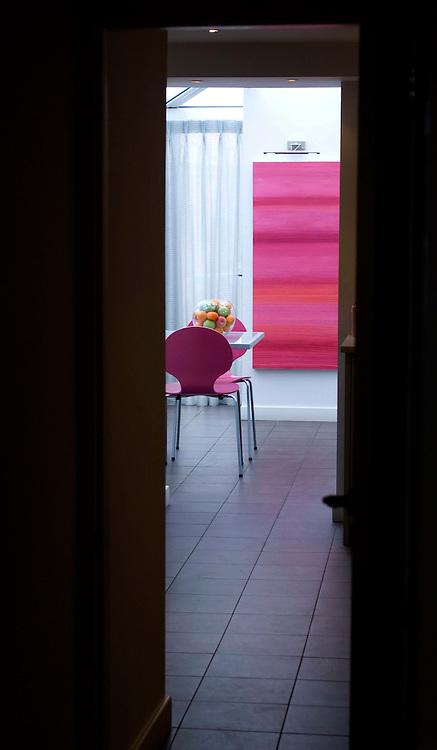 Modern interior design features