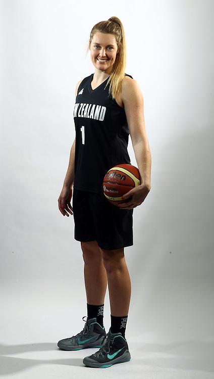 Jess Bygate, Tall Ferns photoshoot, New Zealand international basketball team portraits. Bruce Pullman Lodge, Auckland. 23 July 2015. Photo: William Booth / www.photosport.nz