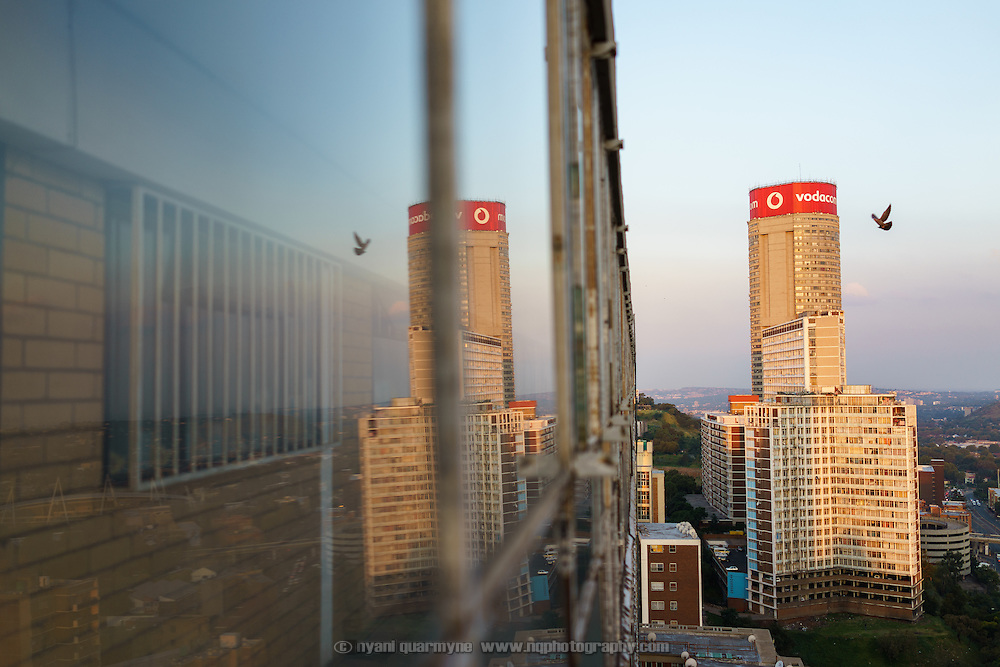 The circular Ponte City tower is an icon of the Johannesburg skyline. For many years it symbolised the inner city's decline as it was overrun by gangs and crime. Now, with investment coming back in, and middle class and wealthy families moving into the buiding, it also symbolises hope for the inner city's renewal.