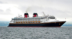 Disney Cruise Ship The Magic  leaves | Greenock | 11 June 2016