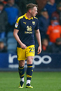 Oxford United defender Sam Long (23) during the EFL Sky Bet League 1 match between Luton Town and Oxford United at Kenilworth Road, Luton, England on 4 May 2019.