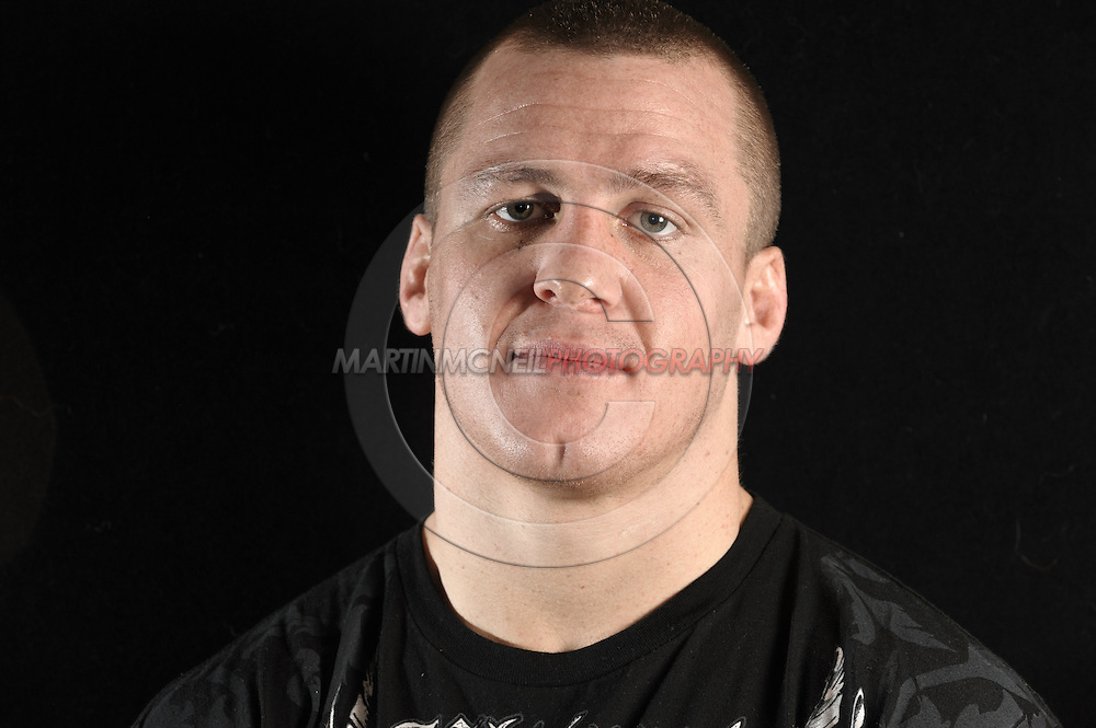 Portrait of mixed martial arts athlete Paul Kelly