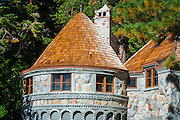 Vikingsholm castle, Emerald Bay State Park, Lake Tahoe, California USA