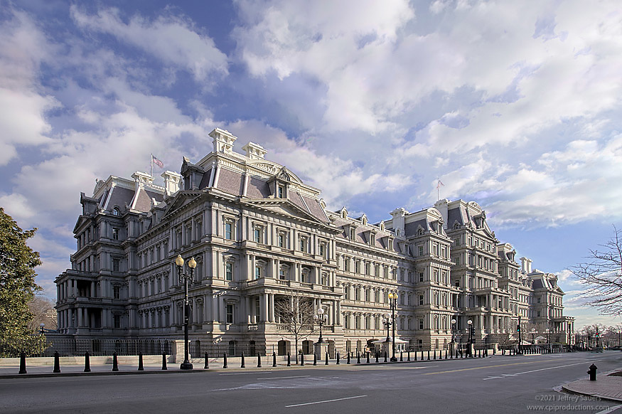 Exterior Photo of Eisenhower Executive Office Building