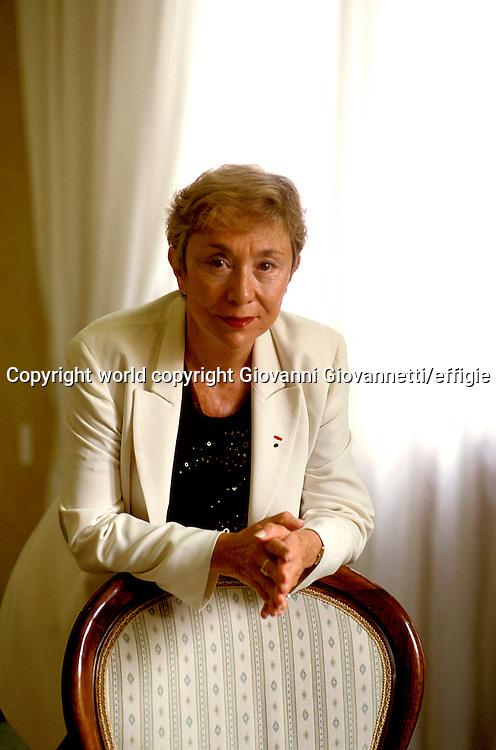 Julia Kristeva<br />world copyright Giovanni Giovannetti/effigie