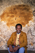 Lemn Sissay photographed in Canterbury Cathedral. Sissay is the Poet Lauterate of Canterbury. Sissay is a renowned poet, author and broadcaster.  Sissay has recently won his battle for compensation from Wigan City Council for his treatement when in care as a young man.
