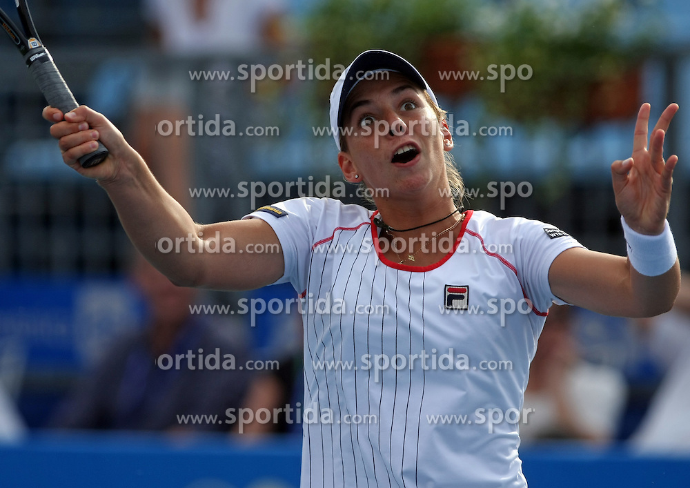 Marina Erakovic of New Zeland at 3rd Round of Banka Koper Slovenia Open 2008, on July 23, 2008, Portoroz - Portorose, Slovenia. (Photo by Vid Ponikvar / Sportal Images)...