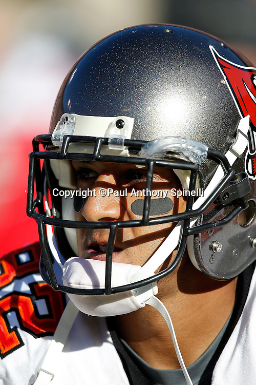 Tampa Bay Buccaneers tight end Kellen Winslow (82) looks on during the NFL week 11 football game against the San Francisco 49ers on Sunday, November 21, 2010 in San Francisco, California. The Bucs won the game 21-0. (©Paul Anthony Spinelli)