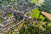 Nederland, Gelderland, Gemeente Montferland, 29-05-2019; overzicht van het dorp Zeddam met De Grafelijke Korenmolen.<br /> Overview of the village of Zeddam.<br /> luchtfoto (toeslag op standard tarieven);<br /> aerial photo (additional fee required);<br /> copyright foto/photo Siebe Swart