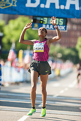 Boston Athletic Association 10K road race: Mamitu Daska, Ethiopia, wins