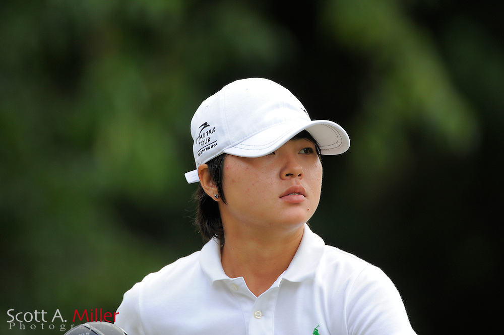 Andy Jun during the Symetra Tour's Eagle Classic at the Richmond Country Club on August 18, 2012 in Richmond, Va...©2012 Scott A. Miller