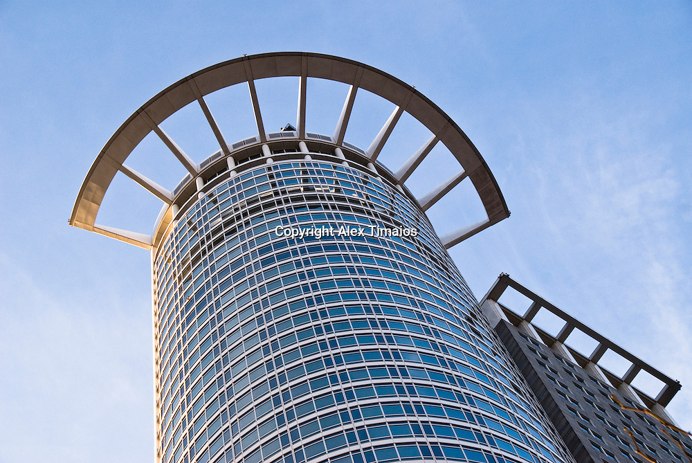 DG Bank Building in Frankfurt, Germany