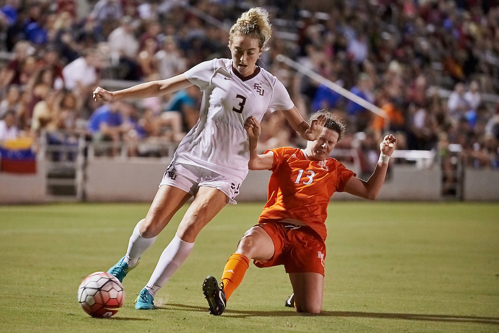 Tallahassee - FL - September 2016: <br /> The Florida State Women's Soccer team defeats the Mercer Bears  2-0  at the FSU Soccer Complex on September 15, 2016 in Tallahassee, FL.  Copyright 2015 Perrone Ford. (Photo by Perrone Ford / PTFPhoto.com)