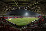 General view of stadium before the Sky Bet League 1 match between Doncaster Rovers and Port Vale at the Keepmoat Stadium, Doncaster, England on 26 January 2016. Photo by Mark P Doherty.