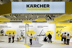 Karcher stand at 2016  IFA (Internationale Funkausstellung Berlin), Berlin, Germany