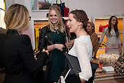 EMILY O'BRIEN; CATHERINE CHENERY; , Juicy Couture and Fifi Lapin - masquerade Ball<br /> Juicy Couture, 27 Bruton Street, London,  7 March 2012