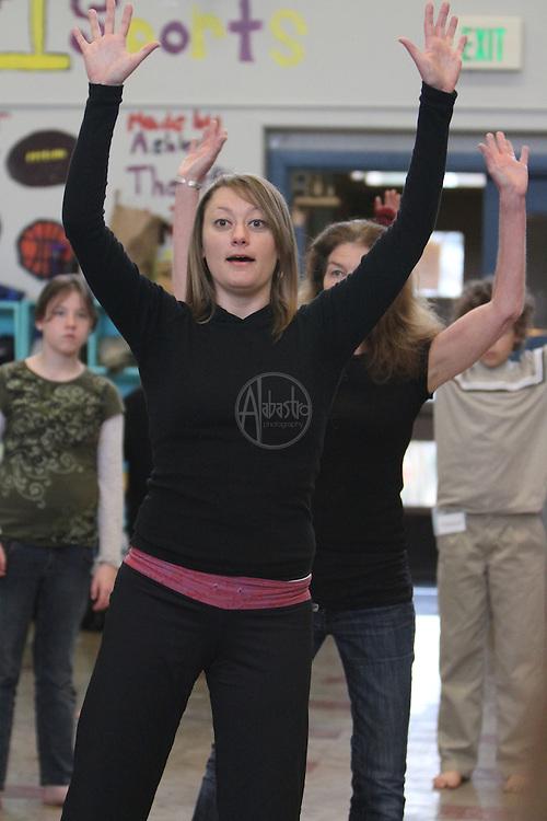 Spring 2011 Discover Dance Residency at Pinehurst Elementary.