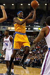 March 14, 2011; Sacramento, CA, USA;  Golden State Warriors small forward Al Thornton (23) shoots against the Sacramento Kings during the second quarter at the Power Balance Pavilion.