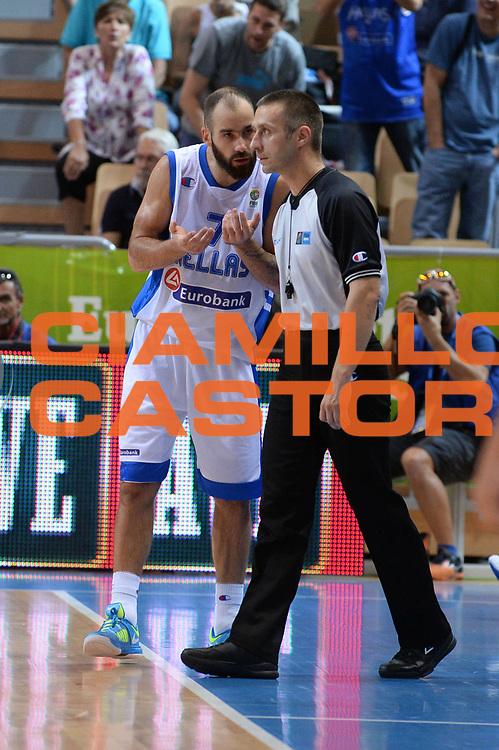 DESCRIZIONE : Capodistria Koper Slovenia Eurobasket Men 2013 Preliminary Round Grecia Finlandia Greece Finland<br /> GIOCATORE : Vassilis Spanoulis<br /> CATEGORIA : Delusione<br /> SQUADRA : Grecia Greece<br /> EVENTO : Eurobasket Men 2013<br /> GARA : Grecia Finlandia Greece Finland<br /> DATA : 09/09/2013<br /> SPORT : Pallacanestro&nbsp;<br /> AUTORE : Agenzia Ciamillo-Castoria/Max.Ceretti<br /> Galleria : Eurobasket Men 2013 <br /> Fotonotizia : Capodistria Koper Slovenia Eurobasket Men 2013 Preliminary Round Grecia Finlandia Greece Finland<br /> Predefinita :