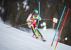 17.02.2019, Aare, SWE, FIS Weltmeisterschaften Ski Alpin, Slalom, Herren, 1. Lauf, im Bild Michael Matt (AUT) // Michael Matt of Austria in action during his 1st run of men's Slalom of FIS Ski World Championships 2019. Aare, Sweden on 2019/02/17. EXPA Pictures © 2019, PhotoCredit: EXPA/ Johann Groder