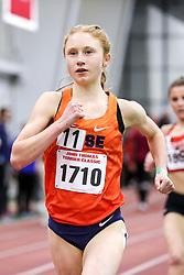 womens 3000 meters, heat 1, Syracuse, Dickinson <br /> BU John Terrier Classic <br /> Indoor Track & Field Meet
